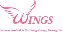 Women Involved in Nurturing, Giving, Sharing, Inc. Logo | Breast Cancer Car Donations