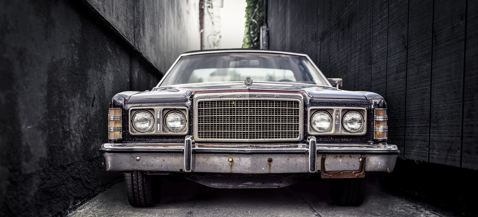 Old Vintage Car in Buffalo | Breast Cancer Car Donations
