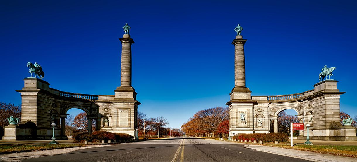 Civil War Memorial, Pennsylvania | Breast Cancer Car Donations