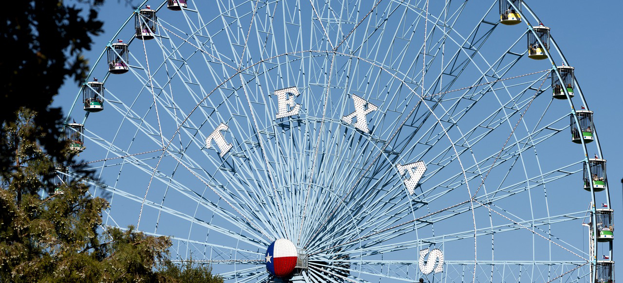 Ferris Wheel in Dallas | Breast Cancer Car Donations