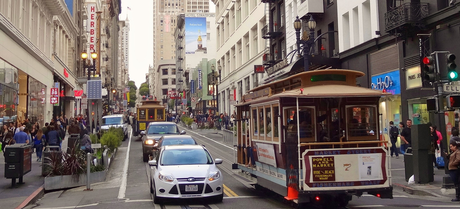 Downtown San Francisco | Breast Cancer Car Donations