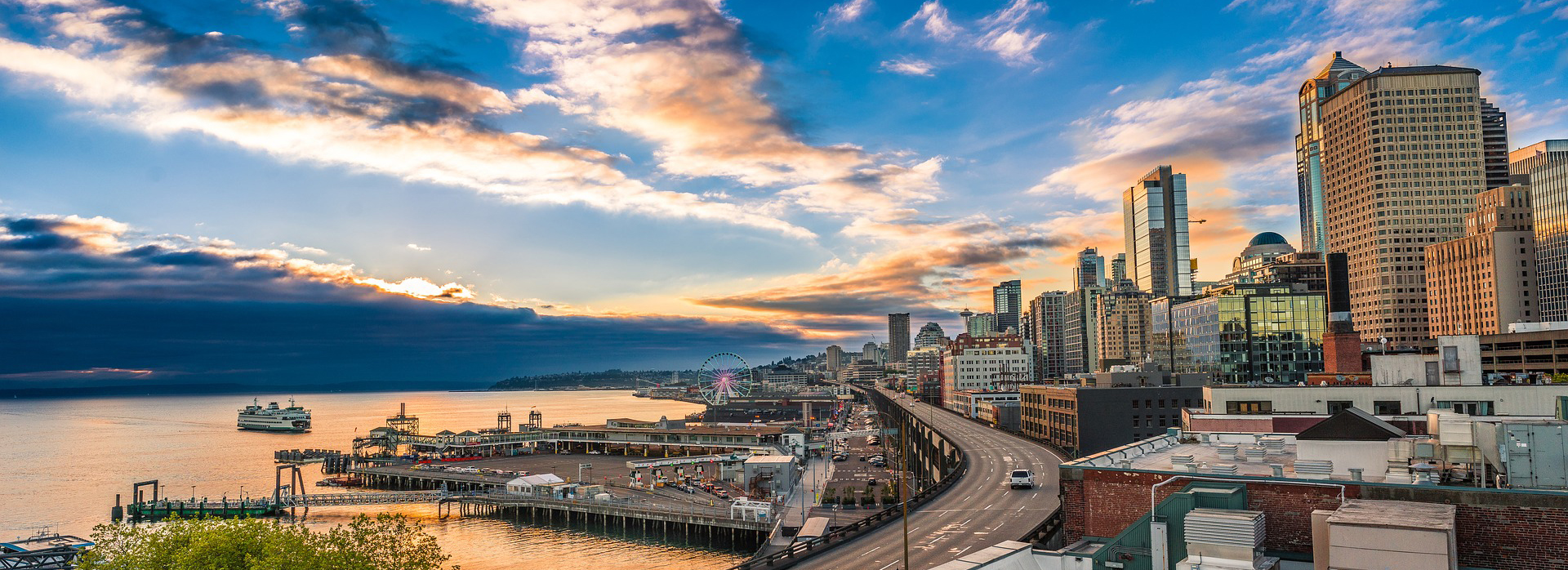 Cityscape in Seattle, Washington | Breast Cancer Car Donations