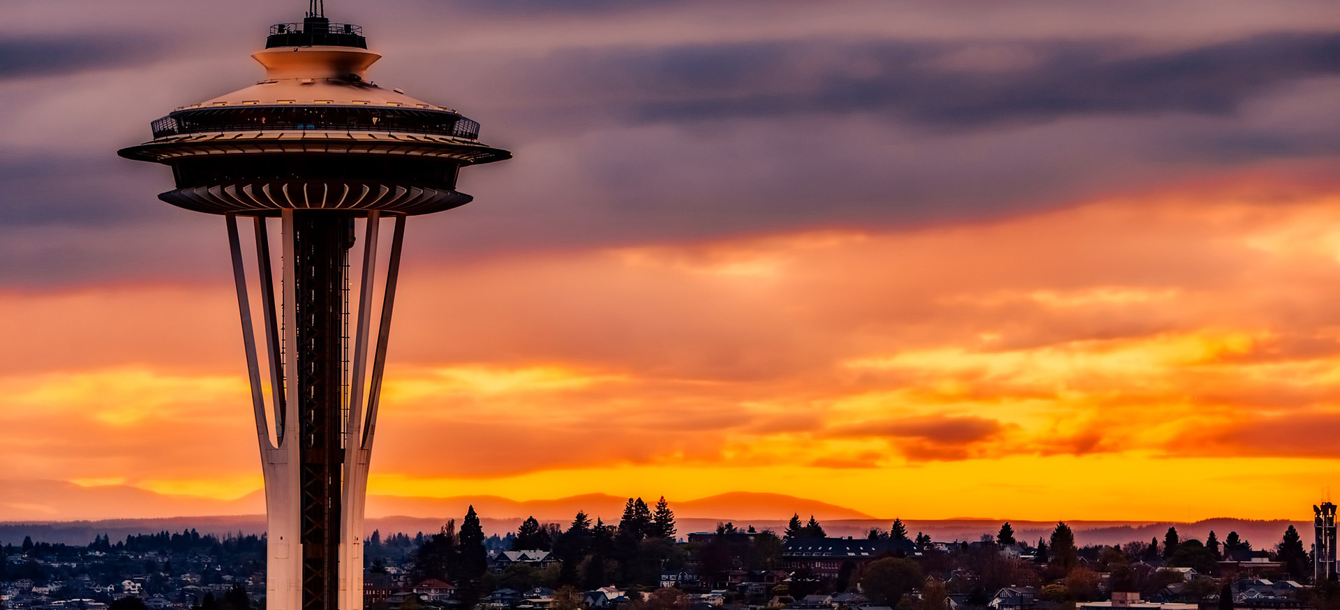 The Space Needle in Seattle Washington | Breast Cancer Car Donations