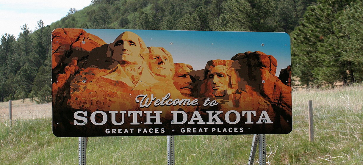 Welcome Signage in South Dakota | Breast Cancer Car Donations