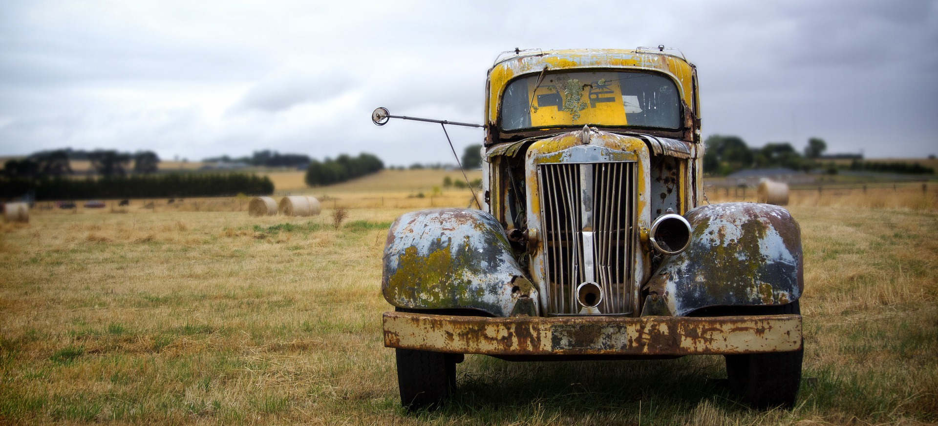 Old Truck in South Dakota | Breast Cancer Car Donations