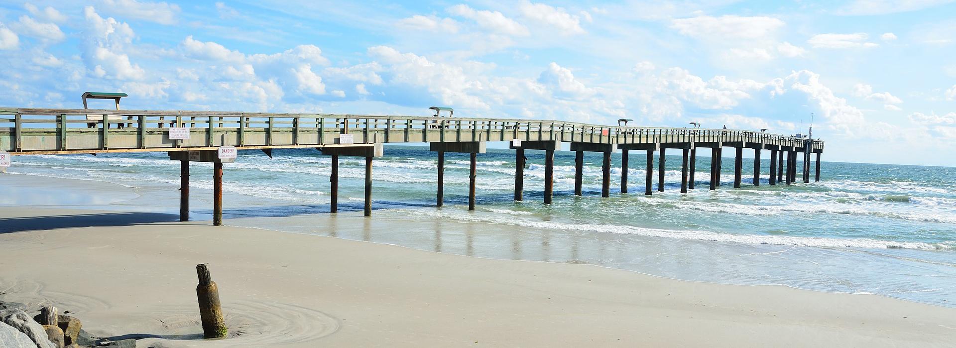 Beach Boardwalk in St. Augustine Florida | Breast Cancer Car Donations