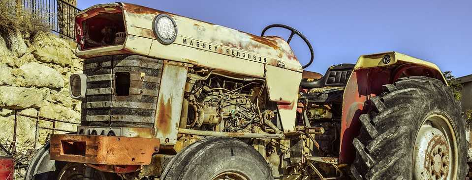 Old Rusted Tractor | Breast Cancer Car Donations