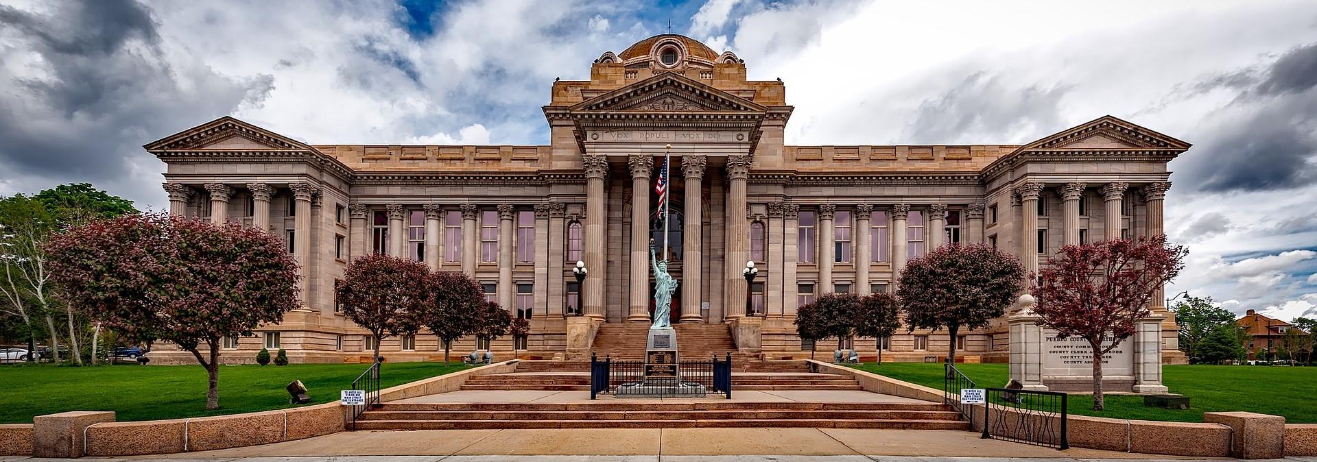 Courthouse in Pueblo Colorado - CarDonations4Cancer.org