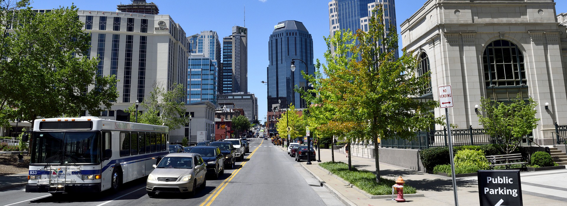 Downtown Nashville -
