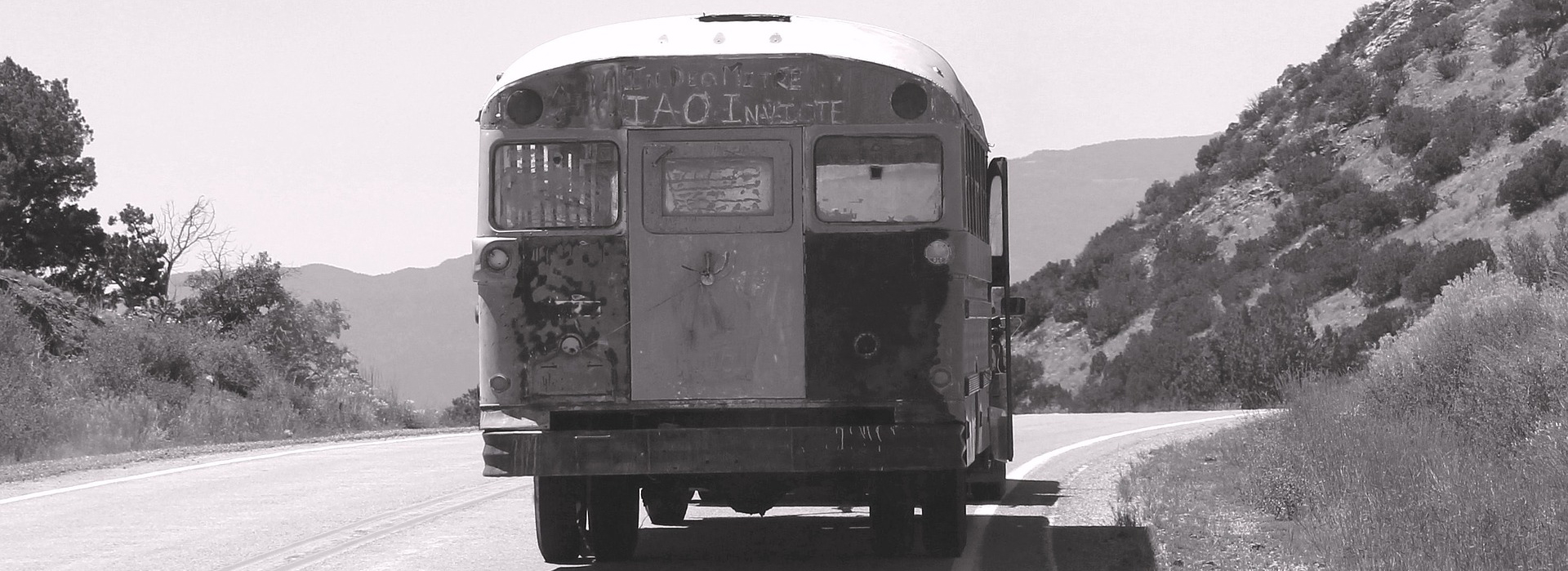 Old Bus in Plano Texas - CarDonations4Cancer.org