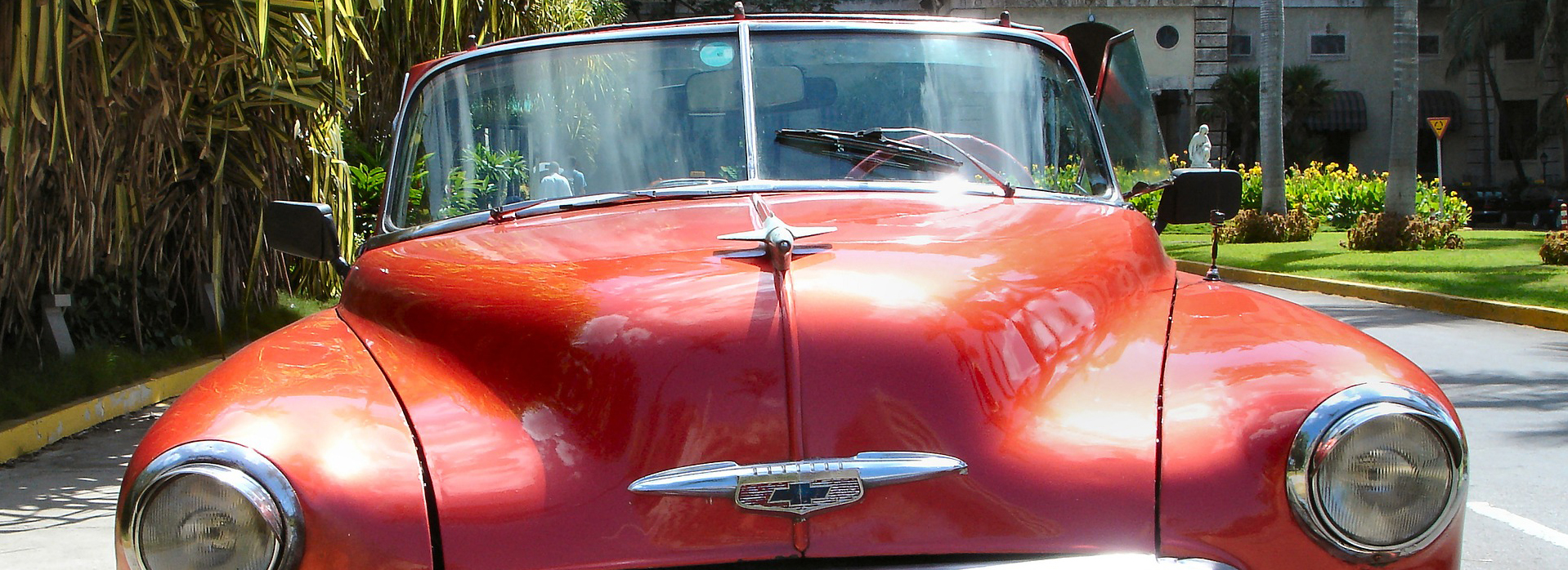 Red Oldtimer Car in Bonita Springs - CarDonations4Cancer.org