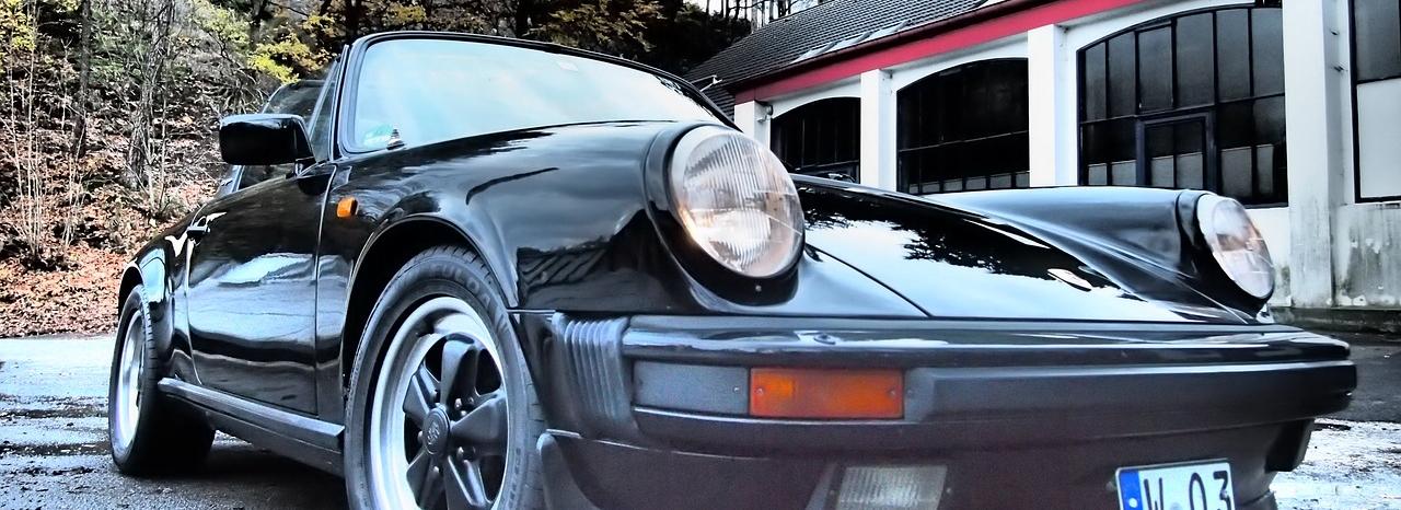 Classic Old Porsche in Petaluma - CarDonations4Cancer.org