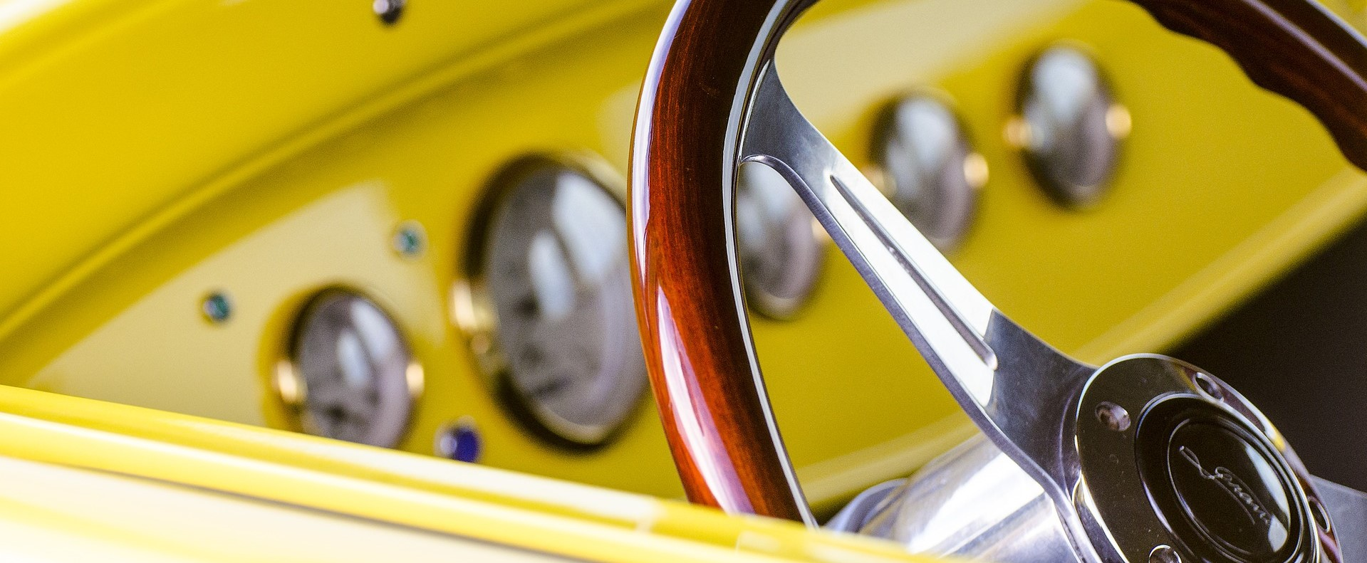 Yellow Oldtimer in Richmond, VA | Breast Cancer Car Donations