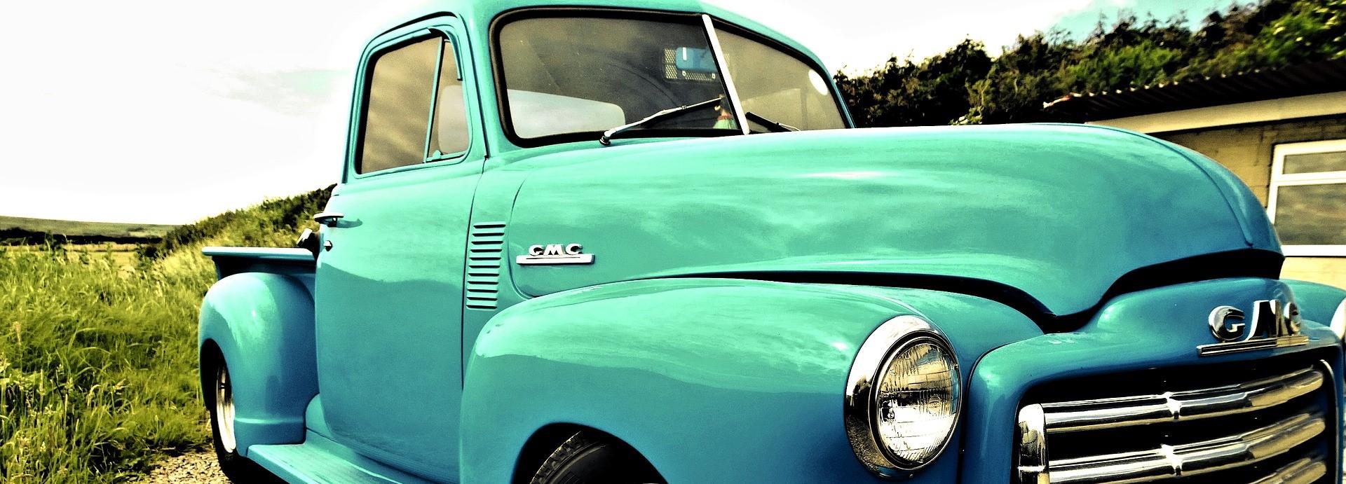 Oldtimer Truck in San Gabriel, California | Breast Cancer Car Donations