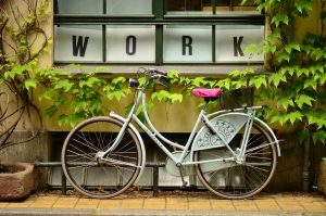 Bike up ready for work | Breast Cancer Car Donations