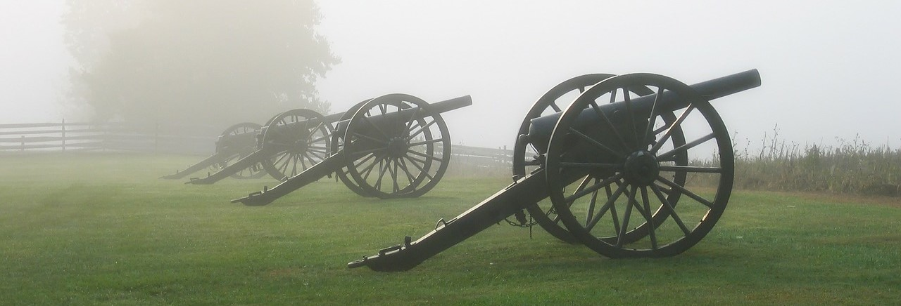 Cannons Displayed in Maryland - CarDonations4Cancer.org