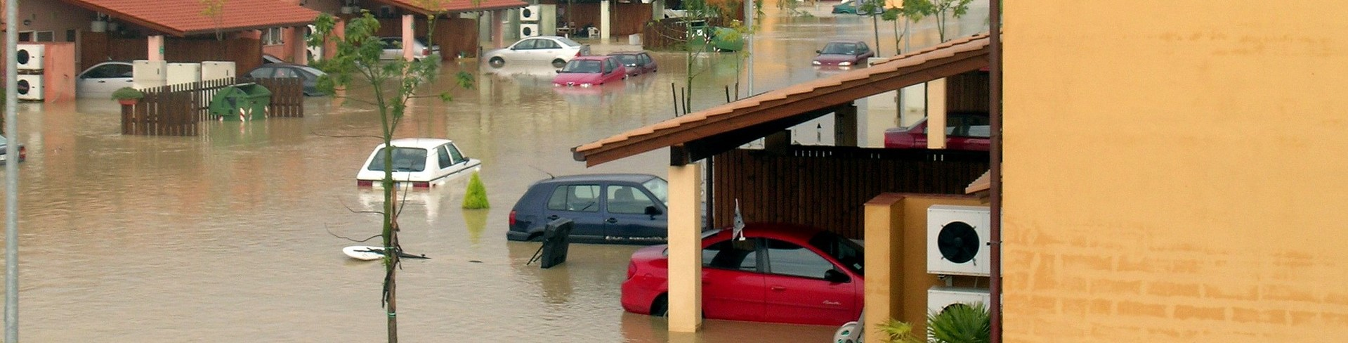 Flooded Cars in a Village - CarDonations4Cancer.org