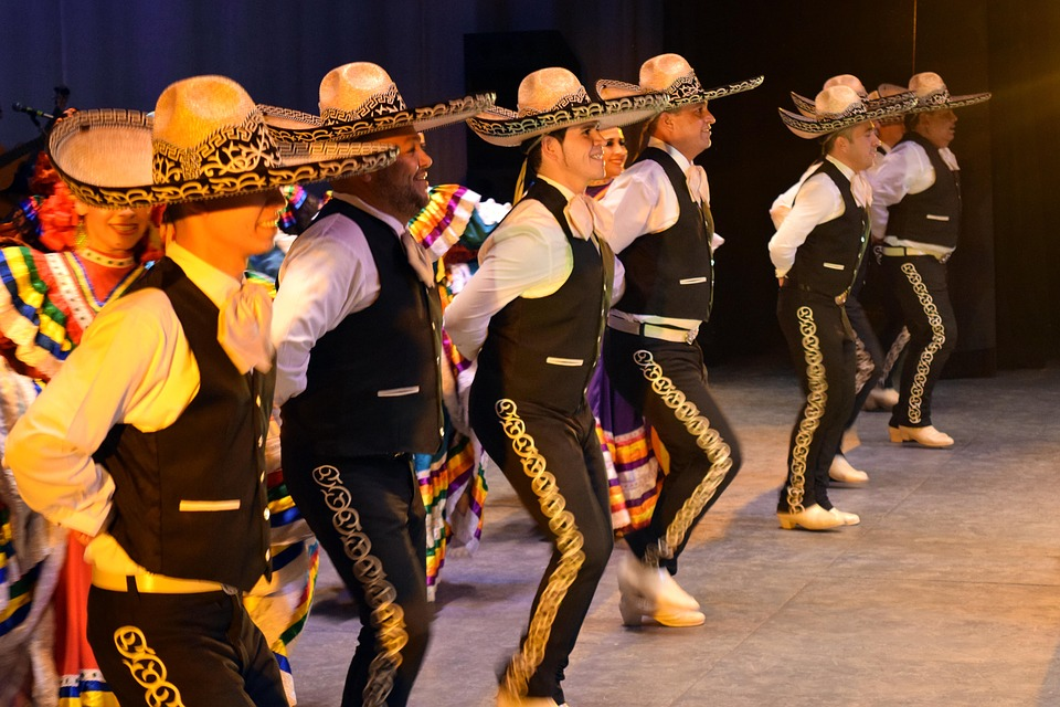 Mexicans doing Jarabe, Mexico's national dance | Breast Cancer Car Donations