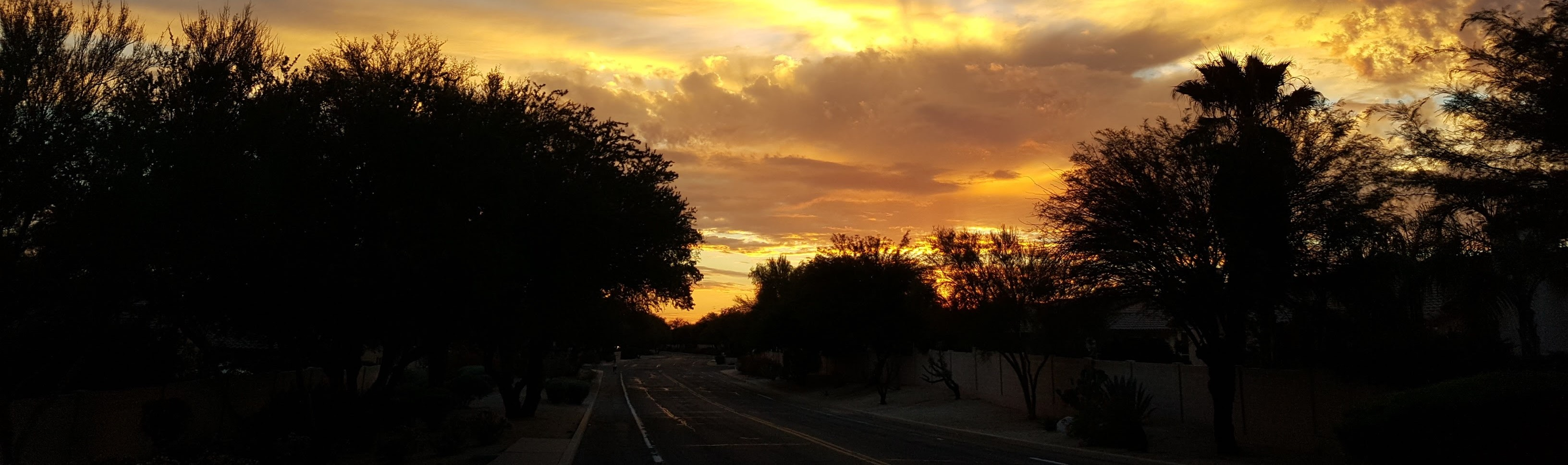 Sunset in Surprise, Arizona - CarDonations4Cancer.org