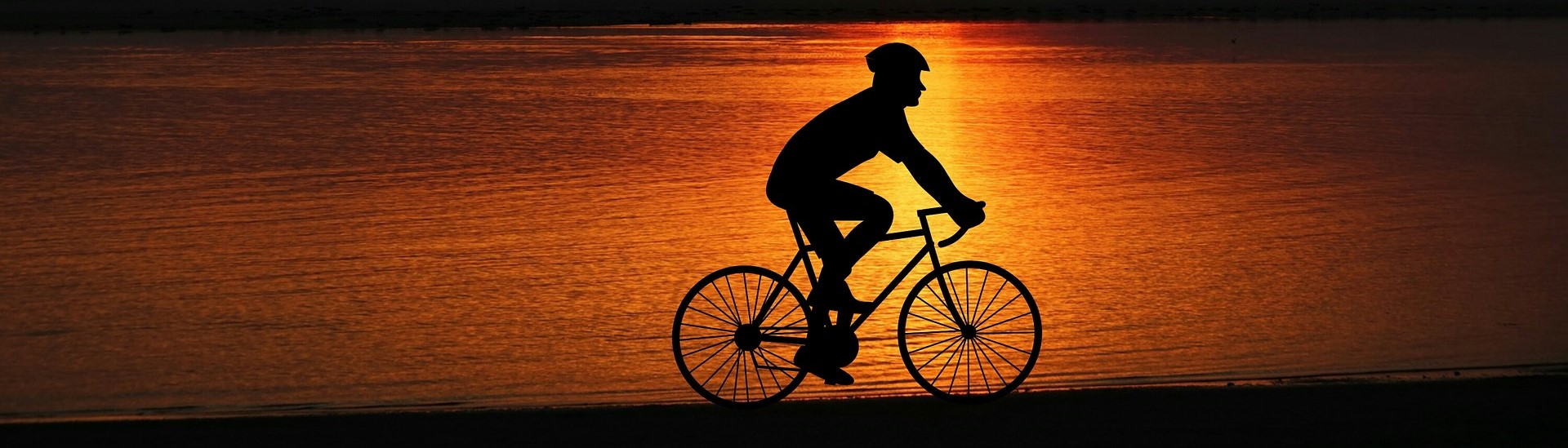 Biking under the Sunset - CarDonations4Cancer.org