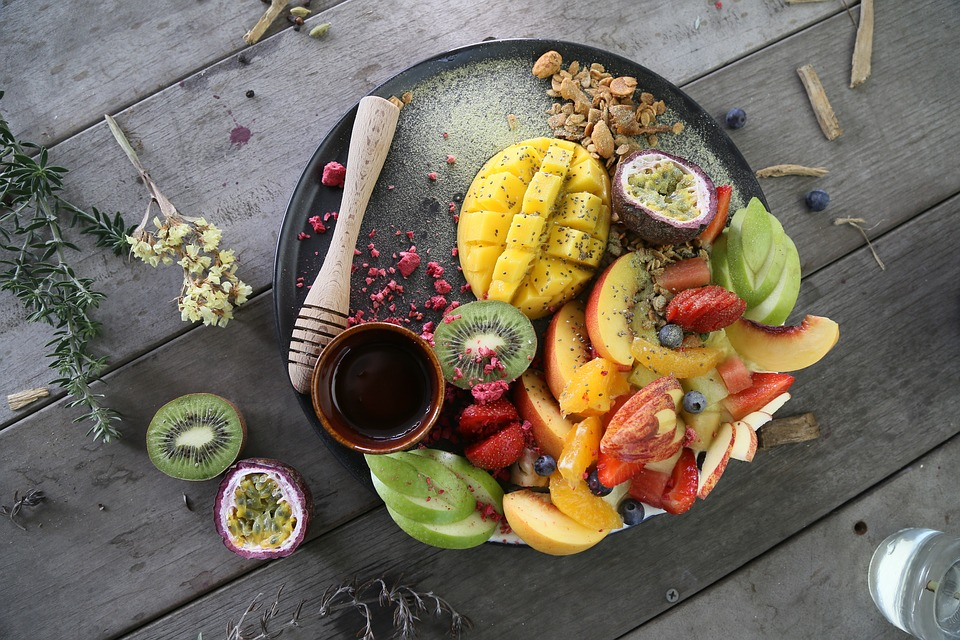 Fresh Fruit in a Platter | Breast Cancer Car Donations