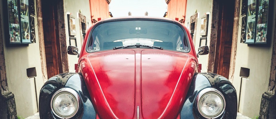Oldtimer Beetle in McAllen, Texas   Breast Cancer Car Donations