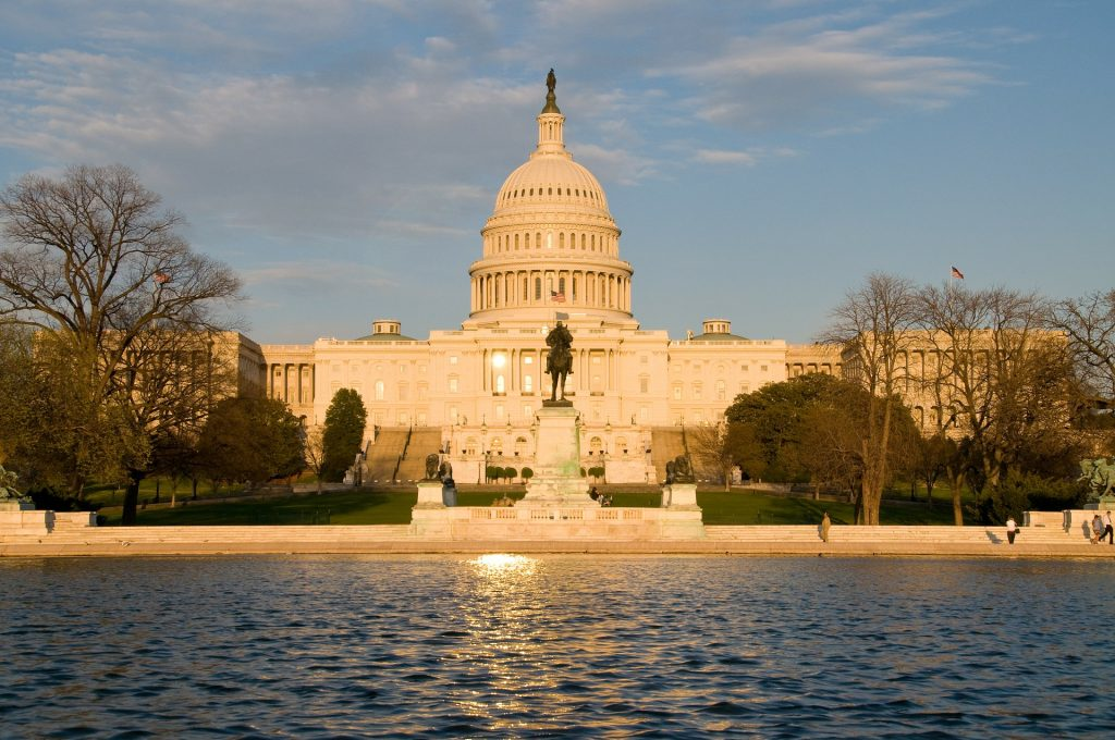 The US Capitol in Washington DC | Breast Cancer Car Donations