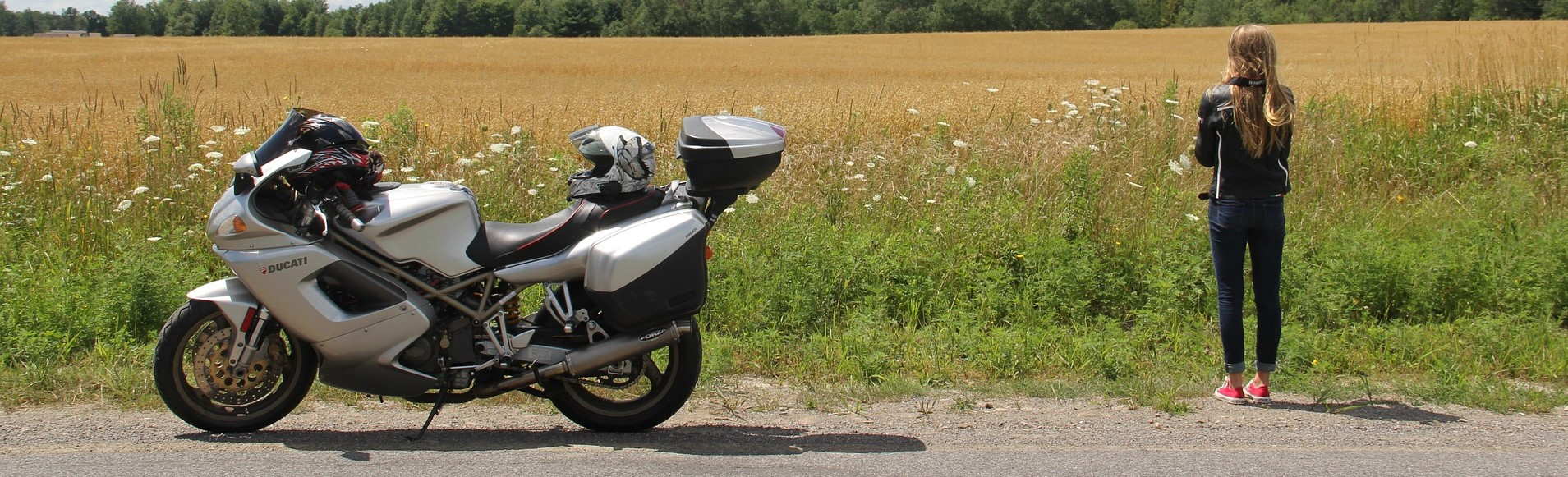 Ducati along the Road | Breast Cancer Car Donations