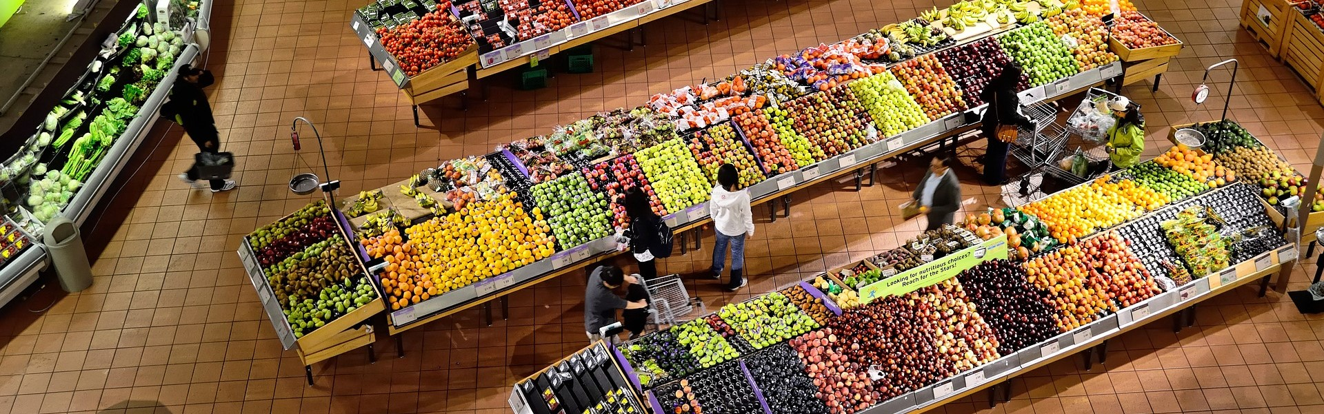 Fruits and Veggies at some Supermarket | Breast Cancer Car Donations