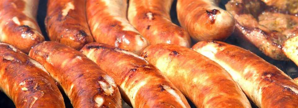 Sausages During Tailgating Party Season | Breast Cancer Car Donations