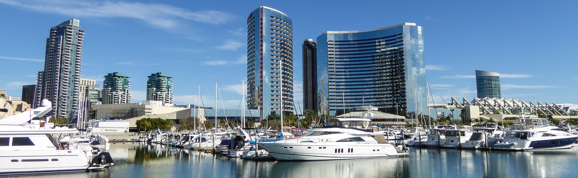 Marina Harbour in San Diego, California | Breast Cancer Car Donations
