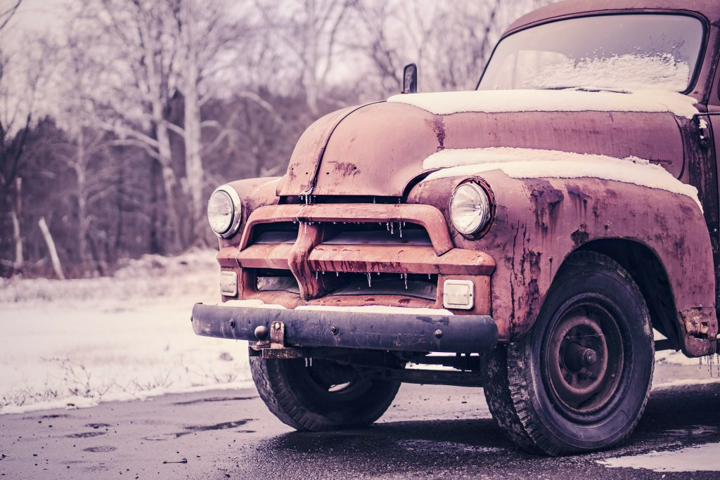 Rusting Old Truck | Breast Cancer Car Donations