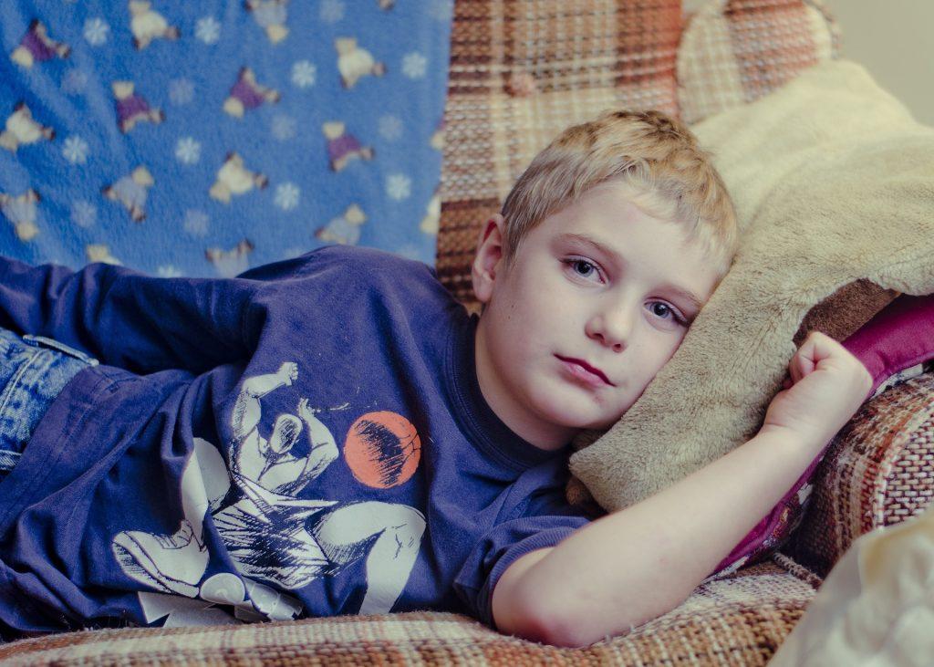 Sick Little Boy | Breast Cancer Car Donations