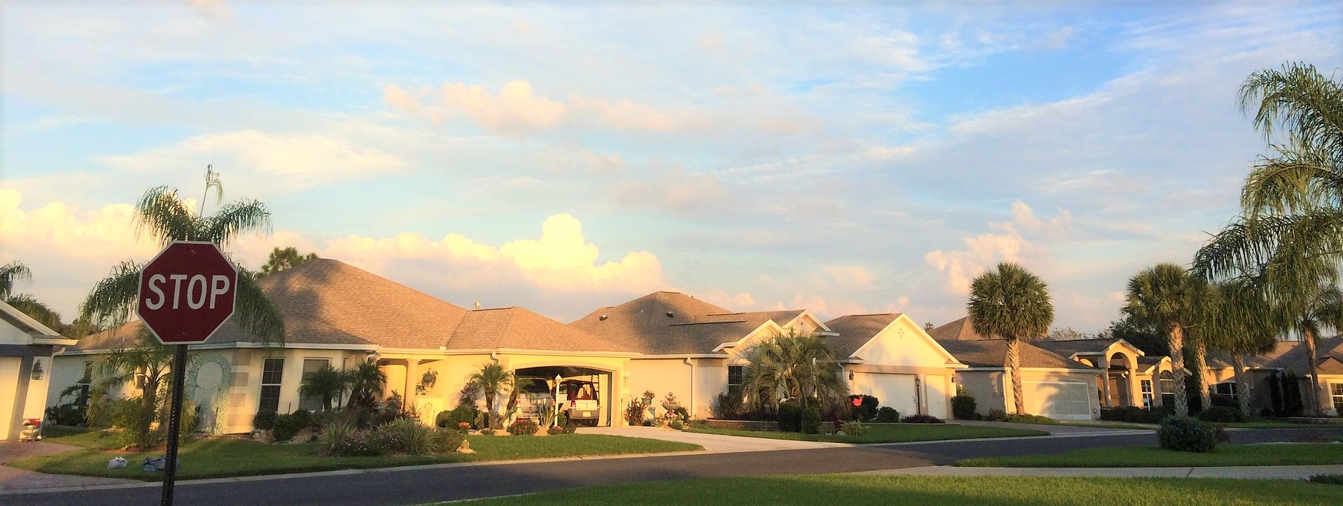 Sunset at The Villages, Florida | Breast Cancer Car Donations