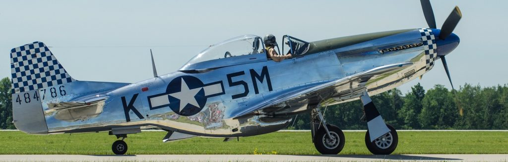 Classic P51 US Warbird | Breast Cancer Car Donations