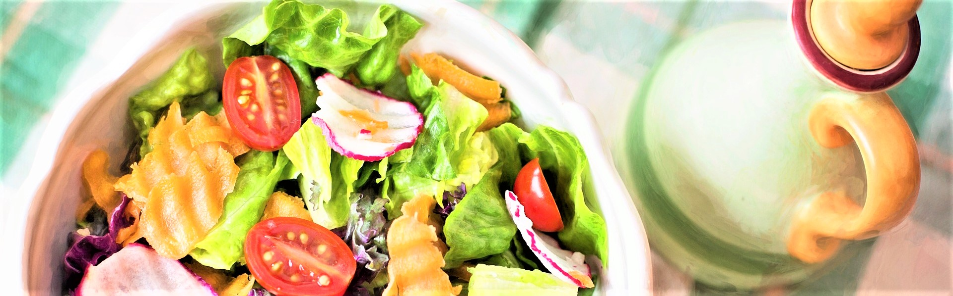 Healthy Vegetable Salad | Breast Cancer Car Donations