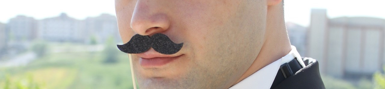 Mustache Costume this Movember | Breast Cancer Car Donations