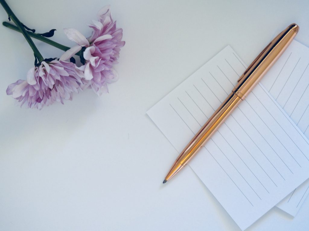 Just Pen and Paper on the Table | Breast Cancer Car Donations