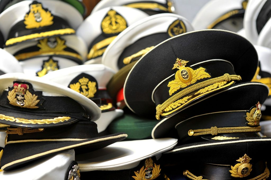 The US Marines Officer Hats | Breast Cancer Car Donations