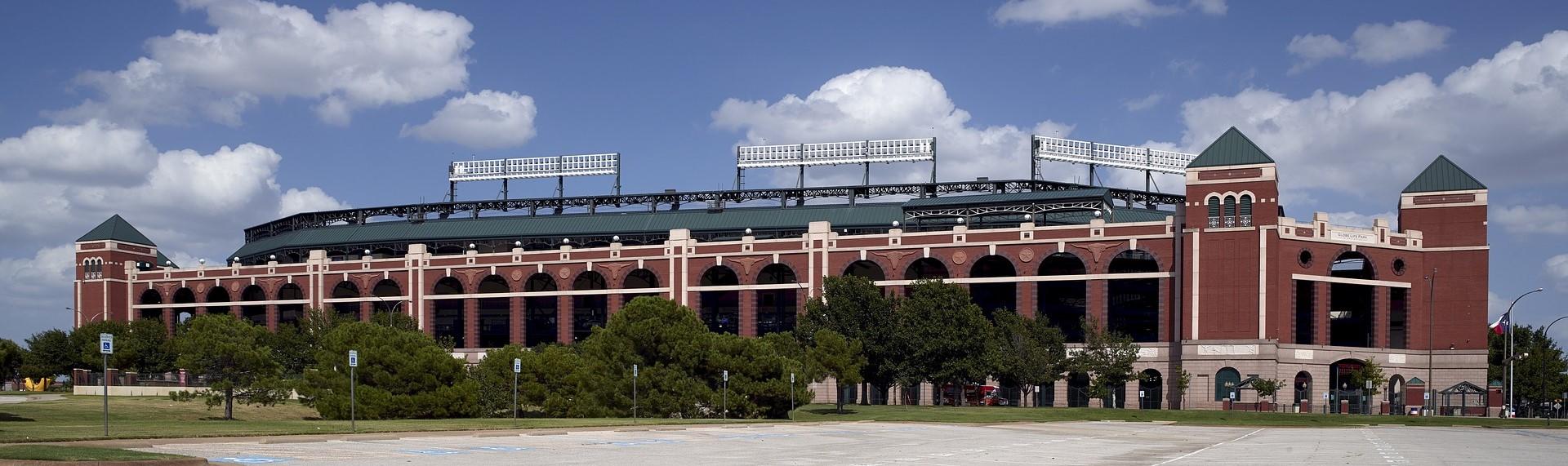 Baseball Stadium in Arlington, Texas   Breast Cancer Car Donations