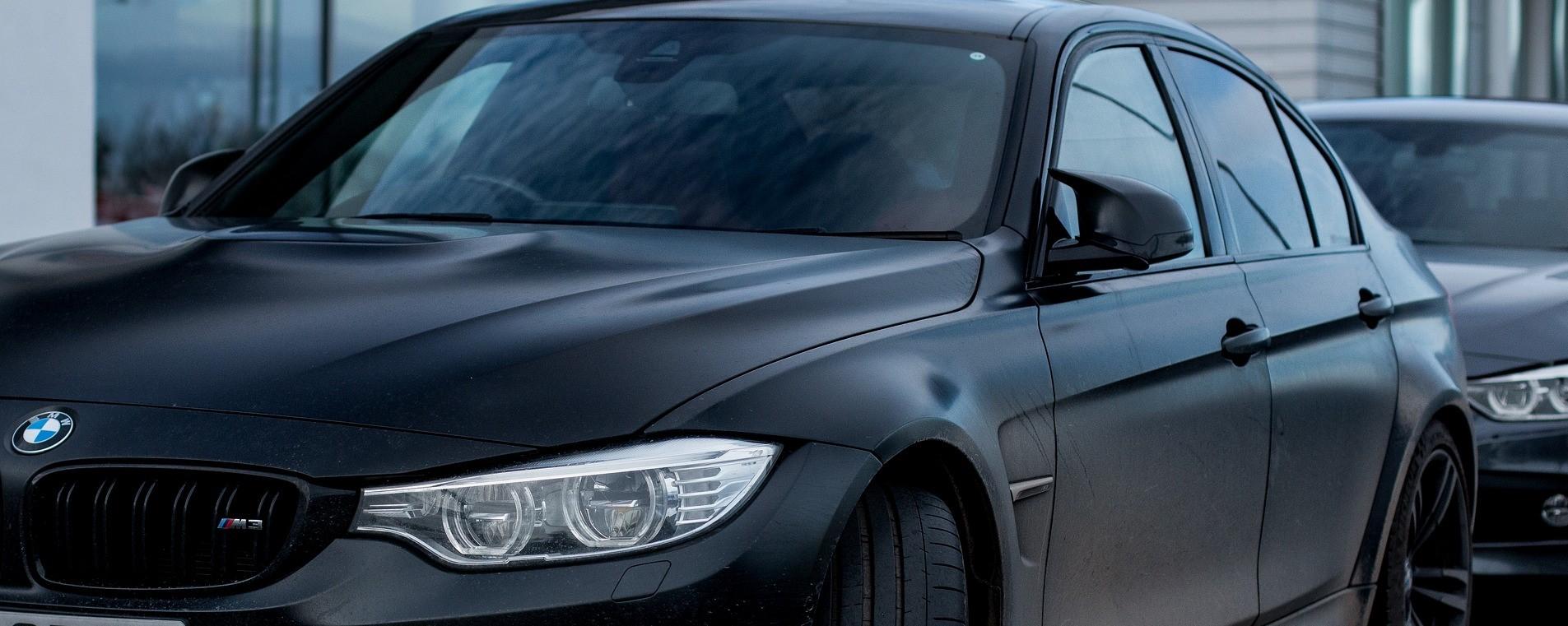 Black BMW in Greensboro, North Carolina | Breast Cancer Car Donations