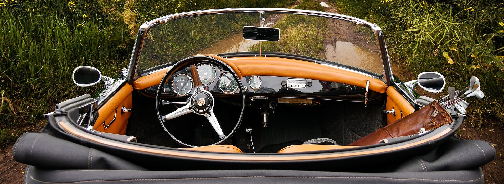 Oldtimer Cabriolet Porsche   Breast Cancer Car Donations