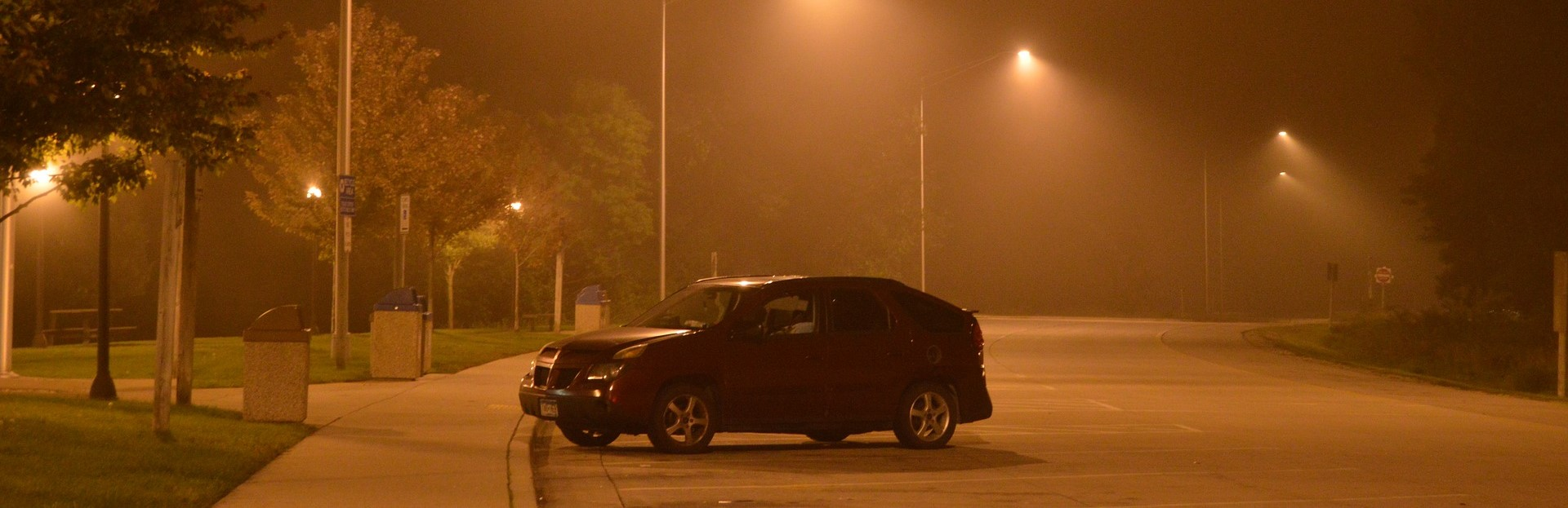 Car At Night in Columbia, Maryland   Breast Cancer Car Donations