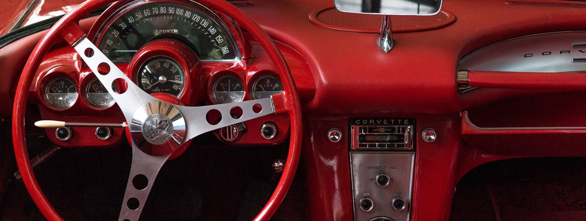 Classic Car Interior in Cherry Hill, New Jersey | Breast Cancer Car Donations