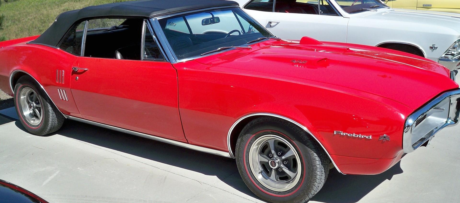 Classic Firebird in Cupertino, California | Breast Cancer Car Donations