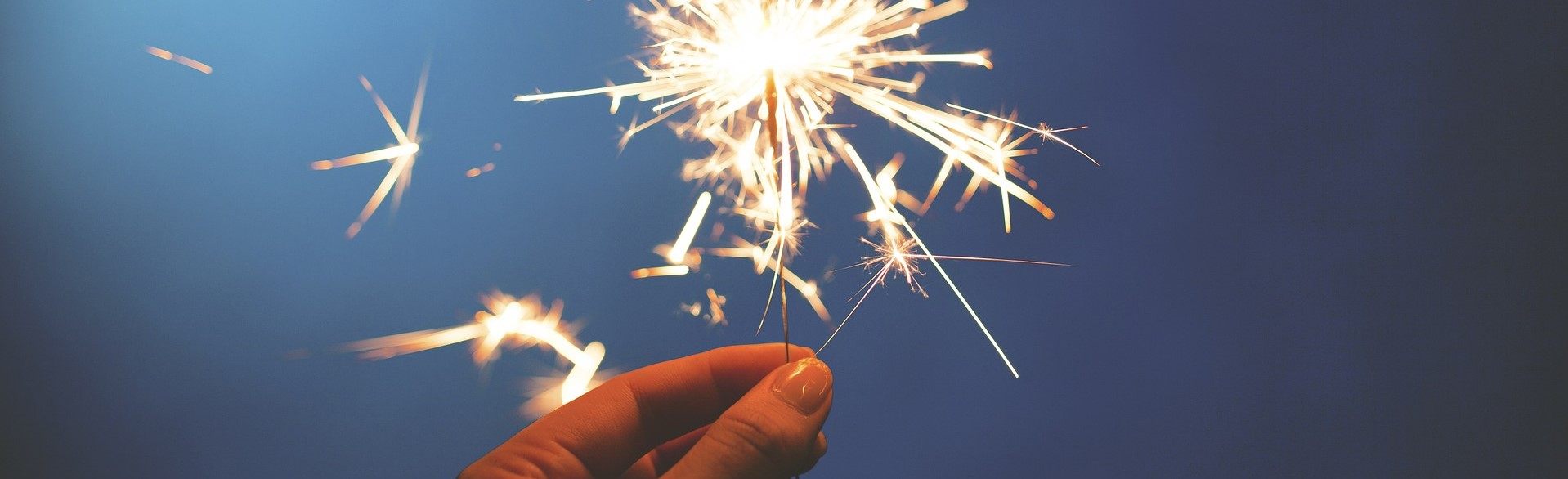 New Year Sparklers | Breast Cancer Car Donations