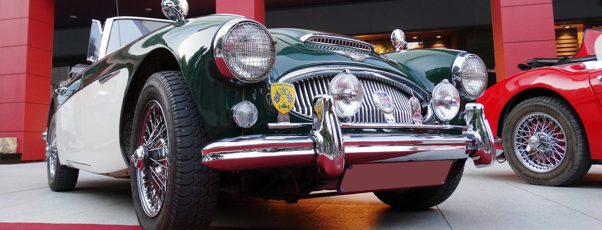 Oldtimer Jaguar in Havre de Grace, Maryland | Breast Cancer Car Donations