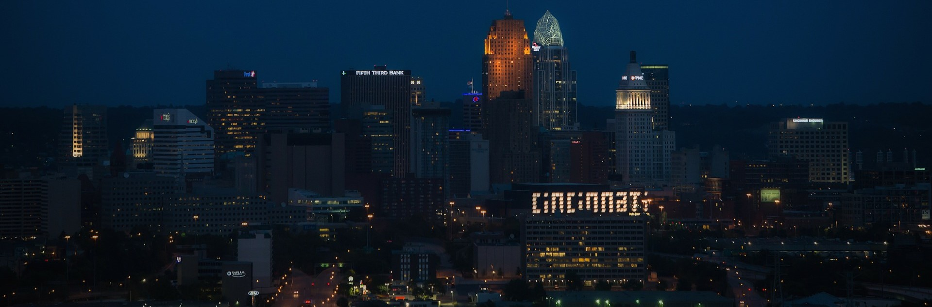 City Skyline in Cincinnati, Ohio | Breast Cancer Car Donations