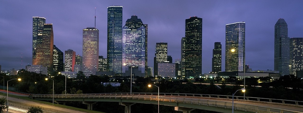 City Skyline in Houston, Texas | Breast Cancer Car Donations