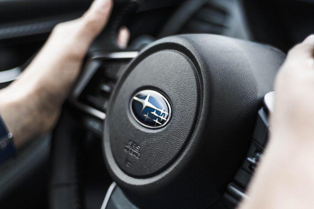 Subaru Steering Wheel   Breast Cancer Car Donations